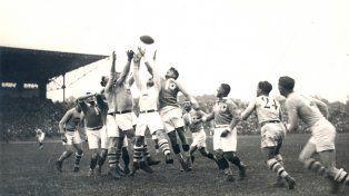 En 1924. La última final olímpica de rugby la ganó Estados Unidos ante Francia.