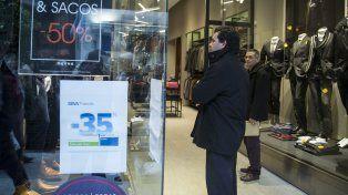 Invierno. El primer semestre de Macri fue letal para el consumo.