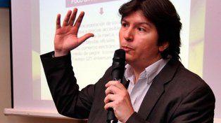 El vicepresidente 1º de Rosario Central