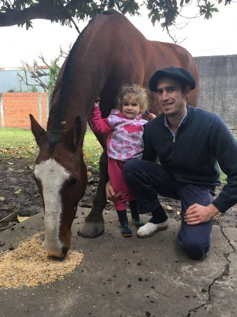 Hallaron sano y salvo al caballo robado en una finca rural en Gobernador Castro