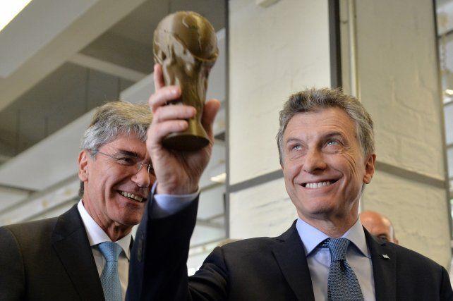 El presidente Maurcio Macri dijo que Gerardo Martino se fue de la selección por la desorganización de la AFA.