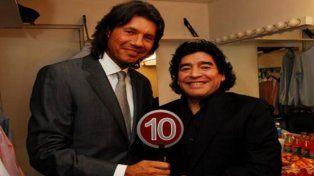 Maradona aseguró que Tinelli le quiere tocar el culo y que a ese gil le di de comer