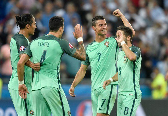 Portugal superó a Gales y se convirtió en el primer finalista de la Eurocopa