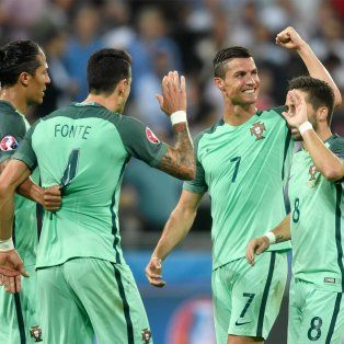 portugal supero a gales y se convirtio en el primer finalista de la eurocopa