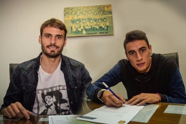Torsiglieri y Martínez estamparon sus firmas y oficialmente son jugadores de Central