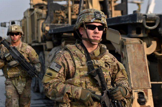 Soldados de EEUU en Afganistán.