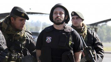 indagatoria. Ibar Pérez Corradi se declaró inocente y pidió protección para él y su familia.