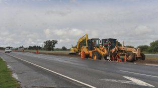 La provincia repavimentará la traza vial.