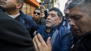 Maradona, indignado en AFA