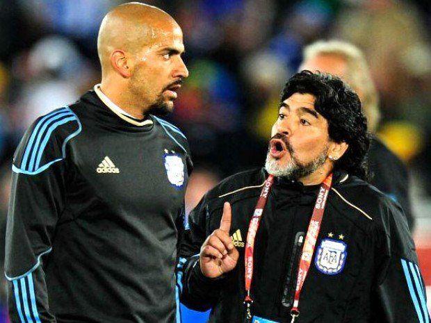 La Brujita se la devolvió a Diego