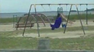 El video de la hamaca de Rhode Island se volvió viral.
