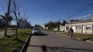 La zona donde fue ultimado Chazarreta.