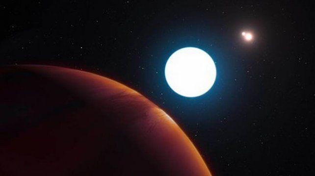 Descubrieron un extraño planeta en un sistema solar lejano que tiene tres soles