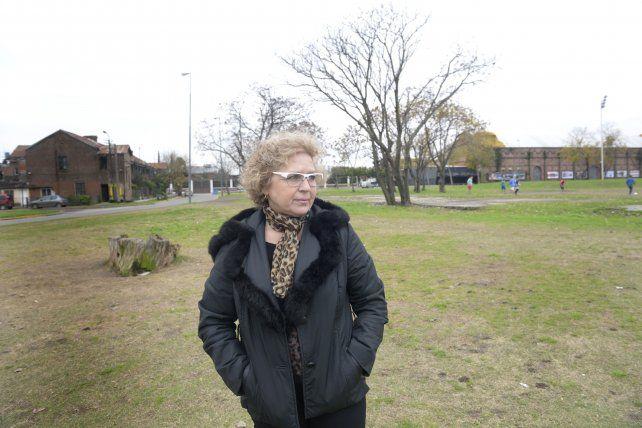 Andrea regresó por primera vez la semana pasada al lugar donde hace unos meses la atacaron.