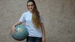 Brenda integra el equipo olímpico junto a otros tres estudiantes. Competirá con alumnos de más de 50 países.