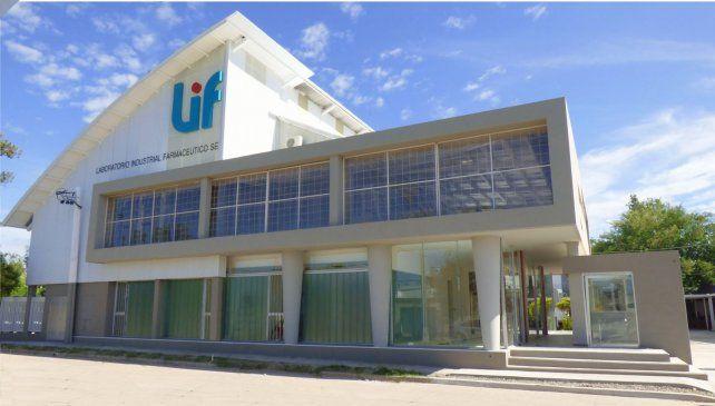 laboratorio provincial. El edificio donde se producen y proveen productos farmacéuticos.