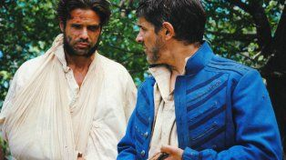 Dos Galanes.Pablo Echarri y Luciano Castro en una escena del filme de Capelli.