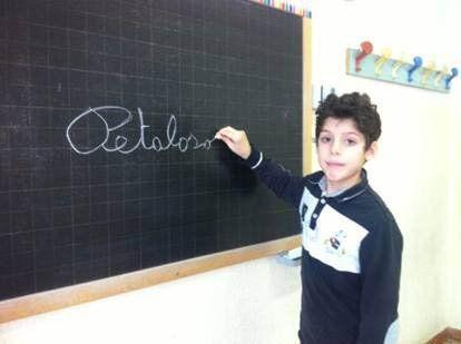 El pequeño Matteo