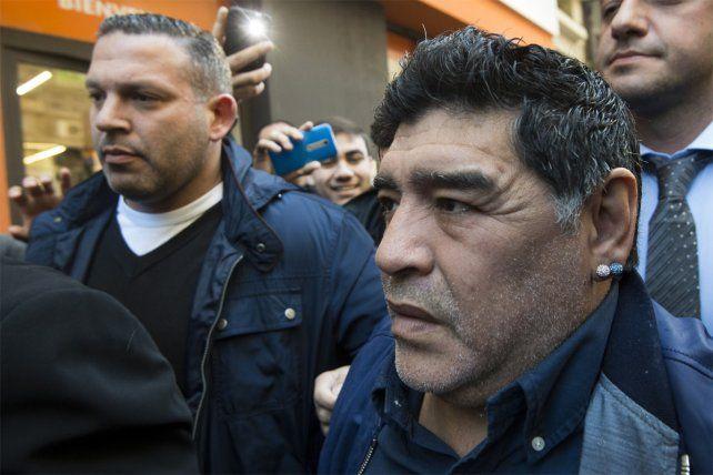 Quieren meter presa a Cristina porque hizo las cosas bien, cuestionó Maradona