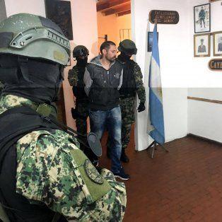 Custodiado. Desde que fue extraditado de Paraguay, Pérez Corradi está recluido en la sede de Gendarmería.