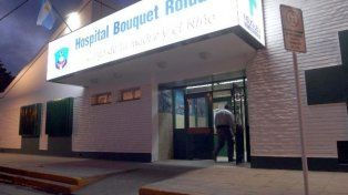 Maternidad. Frente del Hospital Bouquet Roldán