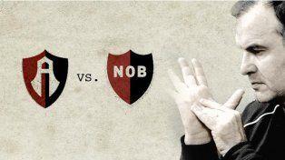 Icono. Afiches de promoción relacionan a Newells y Bielsa con la entidad azteca que cumple cien años.