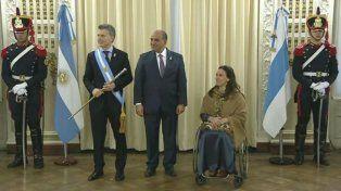 Mauricio Macri junto a Gabriela Michetti y Juan Luis Manzur encabezan los actos en Tucumán.