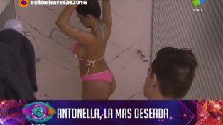 Antonella vuelve loco a los muchachos en Gran Hermano
