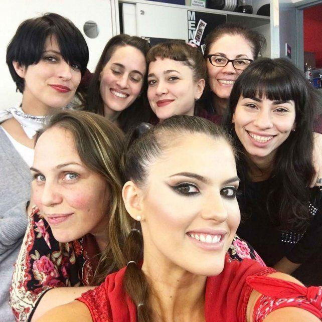 María del Cerro y su equipo en ShowMatch