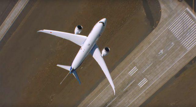 El asombroso despegue vertical del nuevo avión de la compañía Boeing