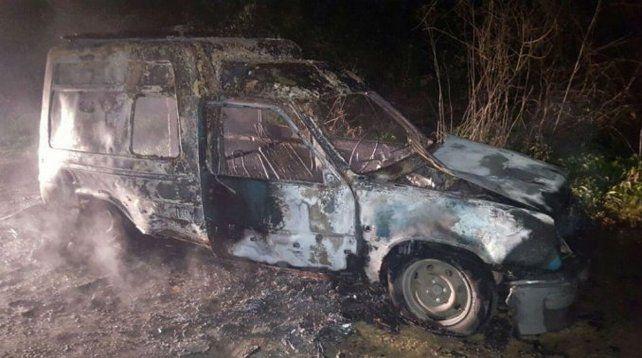 Incendió su camioneta para cobrar el seguro, pero lo descubrieron