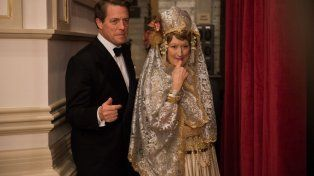 Hugh Grant y Meryl Streep en el filme que recrea la vida de la cantante lírica Florence Foster Jenkins.