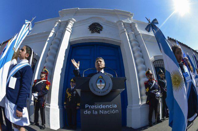 Macri insistió en que debió tomar medidas duras