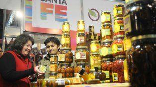 Delicias. En el stand de la provincia hubo 19 empresas santafesinas.