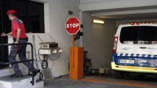 Alevosía. El garaje donde la joven fue sometida.