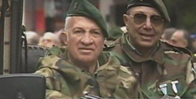 La presencia de Aldo Rico en el desfile del Bicentenario generó fuerte polémica