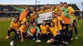 Central ganó, avanzó a cuartos de la Copa Santa Fe y enfrentará a Newells
