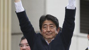 El gobernante Shinzo Abe.