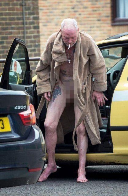 Las imágenes que revelan que Paul Gascoigne está perdiendo el partido contra el alcohol