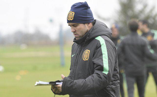 Coudet se ilusiona con la posibilidad de que Teo Gutiérrez se ponga la camiseta de Central
