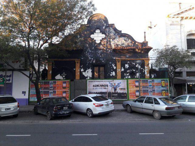Alternativa. Los vecinos del barrio proponen levantar un centro cultural en la histórica mansión.