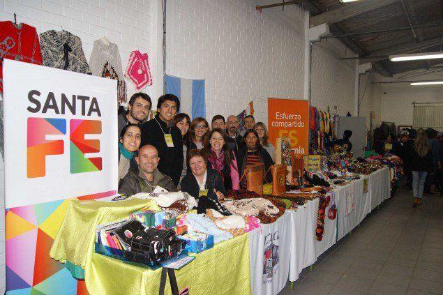 Feria internacional. Los ocho emprendedores rosarinos fueron parte de un evento por el que pasaron 250 mil personas durante el fin de semana.
