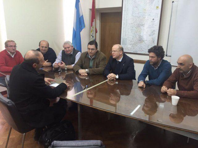 Desahogo. El convenio fue suscripto en la sede santafesina del Ministerio de la Producción.