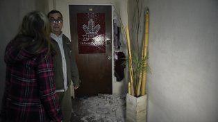 Violencia. Los intrusos destrozaron ocho oficinas. Sin embargo