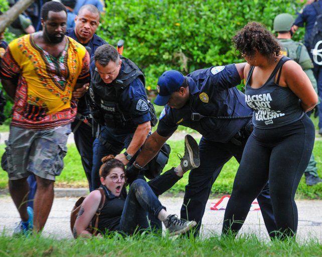 Mano dura. La policía de Baton Rouge
