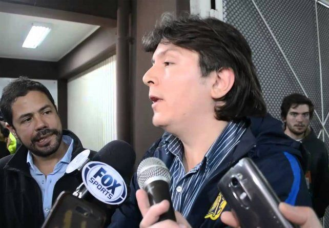 Abal tiene algo contra Central, dijo el vicepresidente del club Luciano Cefaratti