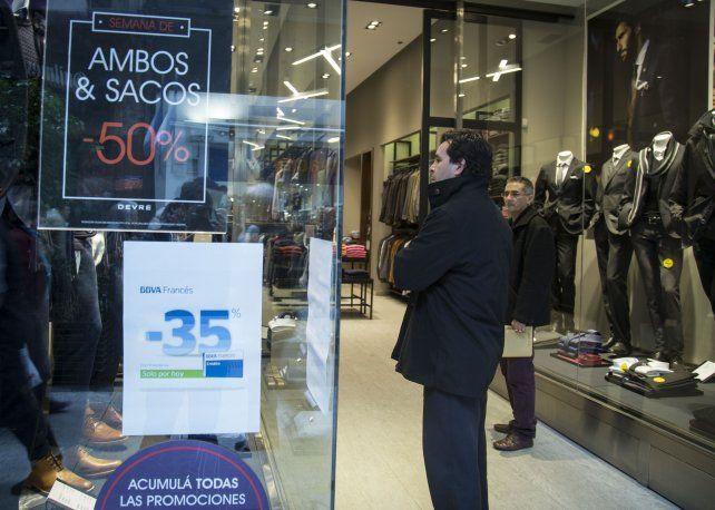 Recesión. La actividad económica cayó en la ciudad de Rosario.