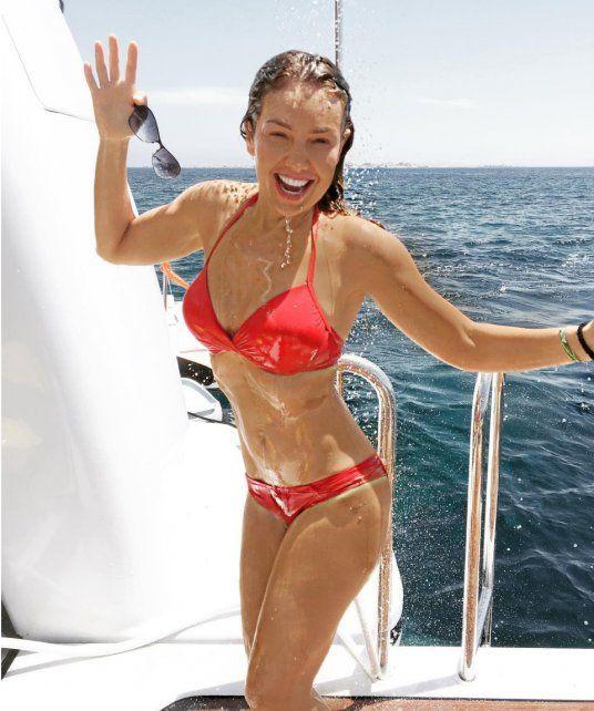La cantante Thalía recordó el éxito de Marimar.