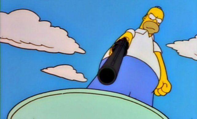 Homero criticó a Maradona luego de que el Diez manifestara su descontento hacia la serie de Fox.
