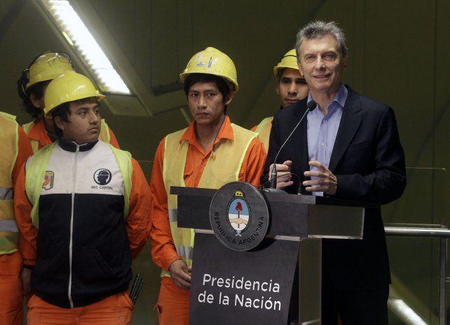 Macri advirtió que hablará obsesivamente del  ahorro de energía porque no tenemos suficiente